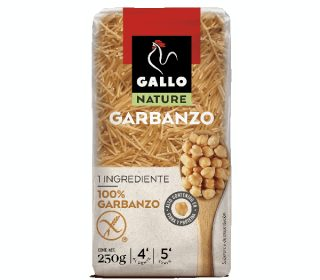 Pastas Gallo Nature garbanzo fideo 250 g.