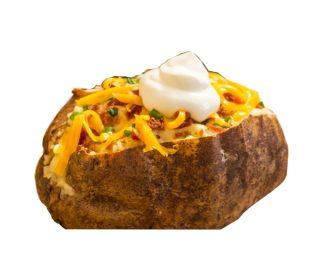 Patata asada rellena, unidad