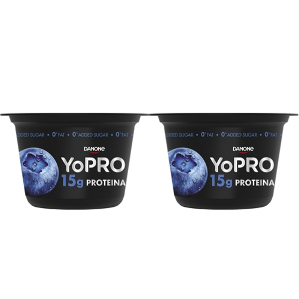 Yopro arándanos pack-2×160 g.