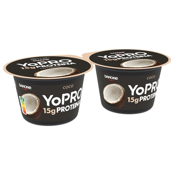 Yopro spoon coco pack-2×160 g.
